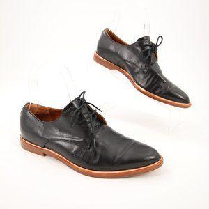 Veronique Branquinho Black Loafers Dress Shoes 36